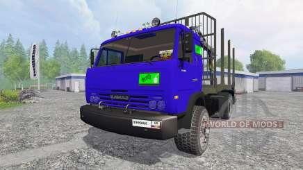 KamAZ-54115 [el camión] v1.0 para Farming Simulator 2015