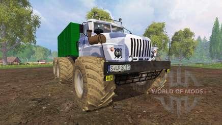 Ural-4320 [grandes ruedas] para Farming Simulator 2015