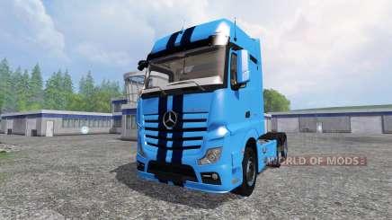 Mercedes-Benz Actros MP4 v1.1 para Farming Simulator 2015