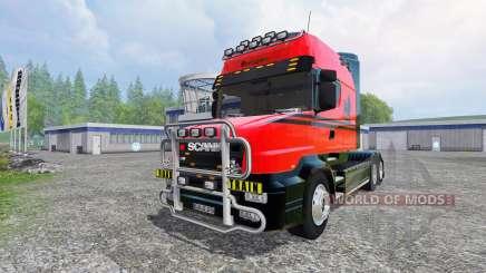 Scania T164 [long line] para Farming Simulator 2015