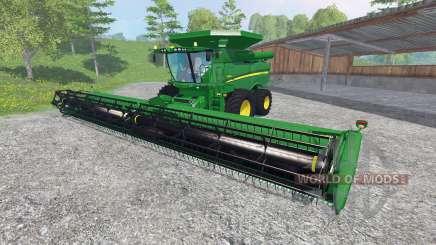John Deere S 690i [washable] para Farming Simulator 2015