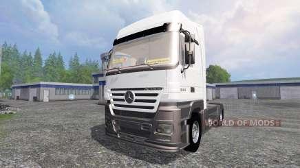 Mercedes-Benz Actros 1844 para Farming Simulator 2015