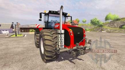 CLAAS Xerion 5000 [red] v1.1 para Farming Simulator 2013