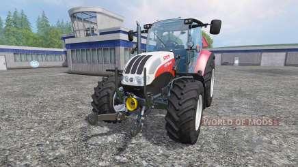 Steyr Multi 4115 [hardpoint] v2.0 para Farming Simulator 2015