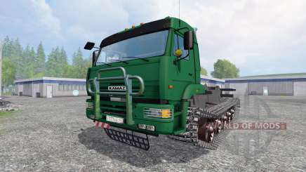 KamAZ-5460 [crawler] para Farming Simulator 2015