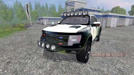 Ford F-150 Raptor Police para Farming Simulator 2015