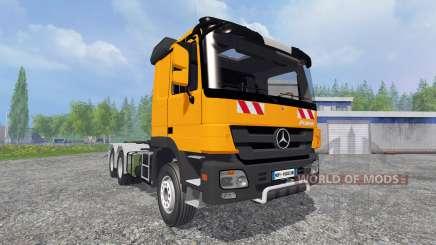 Mercedes-Benz Actros MP3 HKL para Farming Simulator 2015