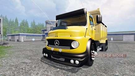 Mercedes-Benz 1513 [dump] para Farming Simulator 2015