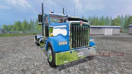 Kenworth W900L 2004 [day cab] para Farming Simulator 2015