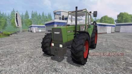 Fendt Favorit 611 FL [washable] para Farming Simulator 2015