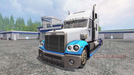 Freightliner Coronado v2.5 para Farming Simulator 2015