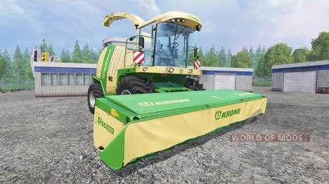 Krone XDisc 6200 para Farming Simulator 2015