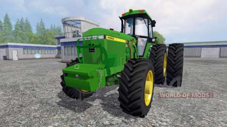 John Deere 4960 4WD FL para Farming Simulator 2015