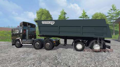 KamAZ-54115 [noroeste de la Alianza de los diseñ para Farming Simulator 2015