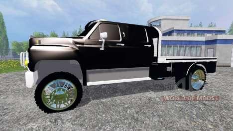 Ford F-650 [flatbed] para Farming Simulator 2015