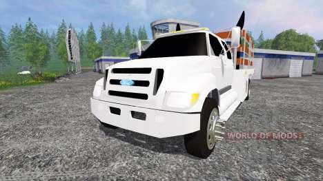 Ford F-650 [stakebed] para Farming Simulator 2015