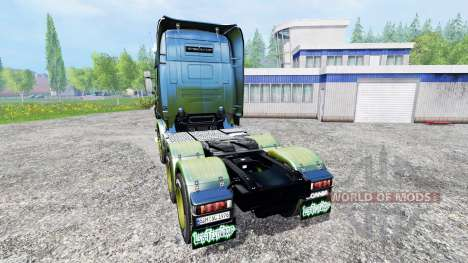 Scania R730 [alien] v2.1 para Farming Simulator 2015