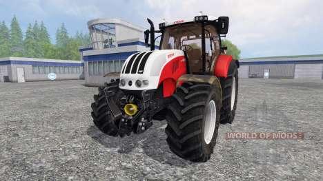 Steyr CVT 6230 v3.0 para Farming Simulator 2015