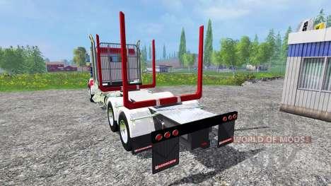 Kenworth T908 [USA] para Farming Simulator 2015