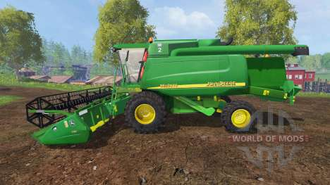 John Deere 9640 WTS para Farming Simulator 2015