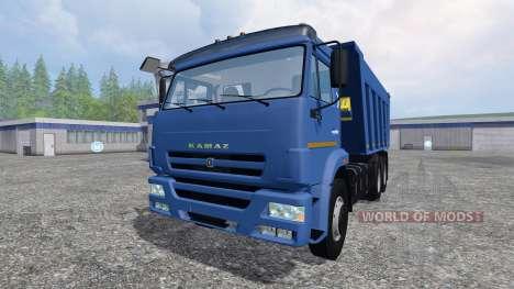 KamAZ-6520 para Farming Simulator 2015
