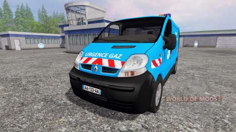 Renault Trafic [urgence gaz] para Farming Simulator 2015