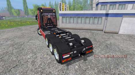 Volvo FH16 8x4 v3.0 para Farming Simulator 2015