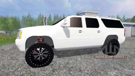 GMC Yukon para Farming Simulator 2015