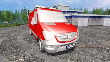 Mercedes-Benz Sprinter 2014 para Farming Simulator 2015