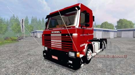 Scania 143 Frontal para Farming Simulator 2015