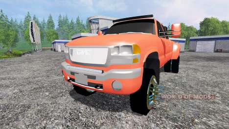 GMC Sierra 3500 [lifted] para Farming Simulator 2015