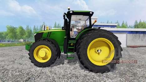 John Deere 7310R [USA] v1.5 para Farming Simulator 2015