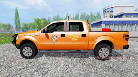 Ford F-150 [OilField Rednecks] para Farming Simulator 2015