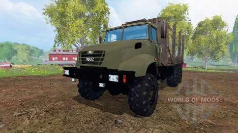 El KrAZ B18.1 [de madera] para Farming Simulator 2015