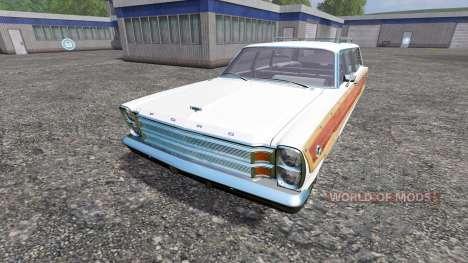 Ford Country Squire 1966 para Farming Simulator 2015