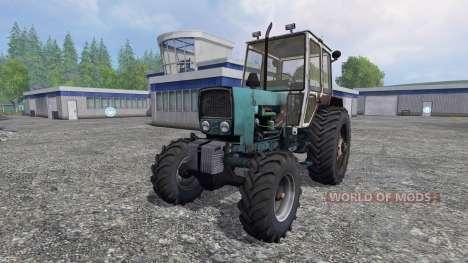 UMZ DE 6КЛ 4x4 para Farming Simulator 2015