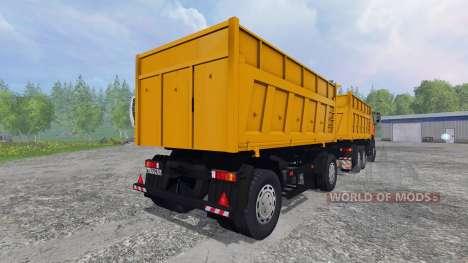 MAZ-6501 [tráiler] para Farming Simulator 2015