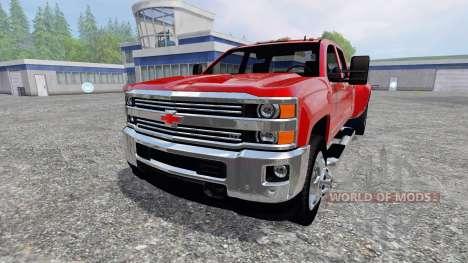 Chevrolet Silverado 3500 [pack] para Farming Simulator 2015