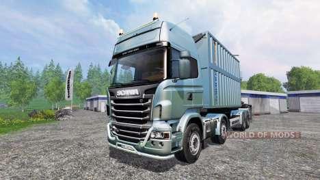 Scania R730 [bruks] v1.1.1 para Farming Simulator 2015
