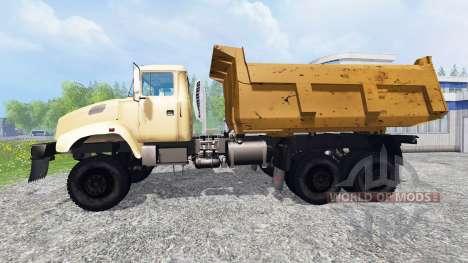 El KrAZ B18.1 v1.0 para Farming Simulator 2015