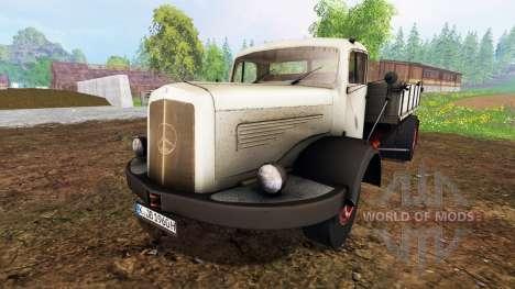 Mercedes-Benz 334K v1.05 para Farming Simulator 2015