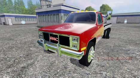 GMC 3500 1986 para Farming Simulator 2015