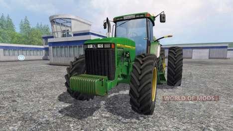 John Deere 8400 [American] para Farming Simulator 2015