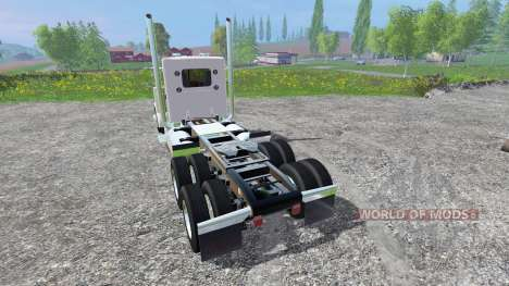 Peterbilt 379 2007 [daycab] v2.0 para Farming Simulator 2015