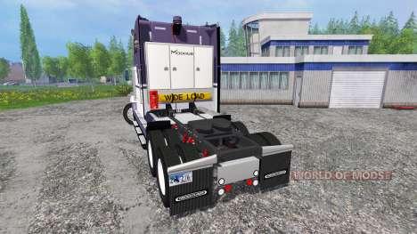 Freightliner FLD120 para Farming Simulator 2015