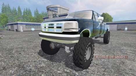 Ford F-250 [diesel] para Farming Simulator 2015