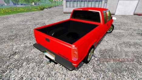 Chevrolet Silverado C1500 para Farming Simulator 2015