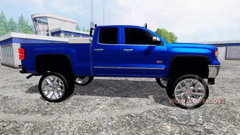 GMC Sierra 1500 2014 [lifted] para Farming Simulator 2015