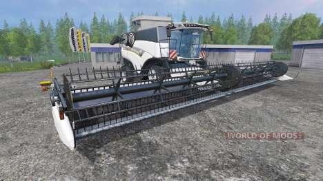 New Holland Super Flex Draper 45FT [white] para Farming Simulator 2015