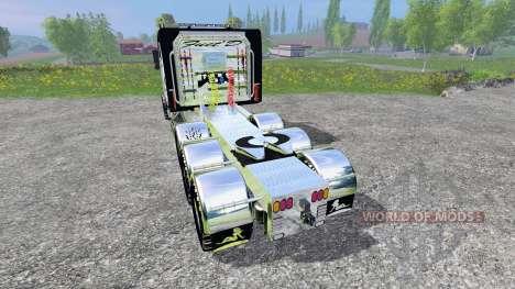 Kenworth T800 [TriAxle Sleeper] para Farming Simulator 2015